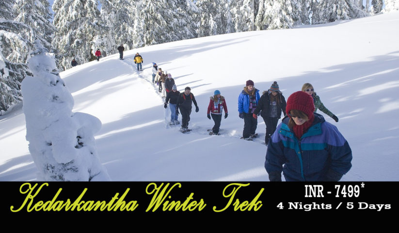 Kedarkantha Winter Trek Starting @ 7499
